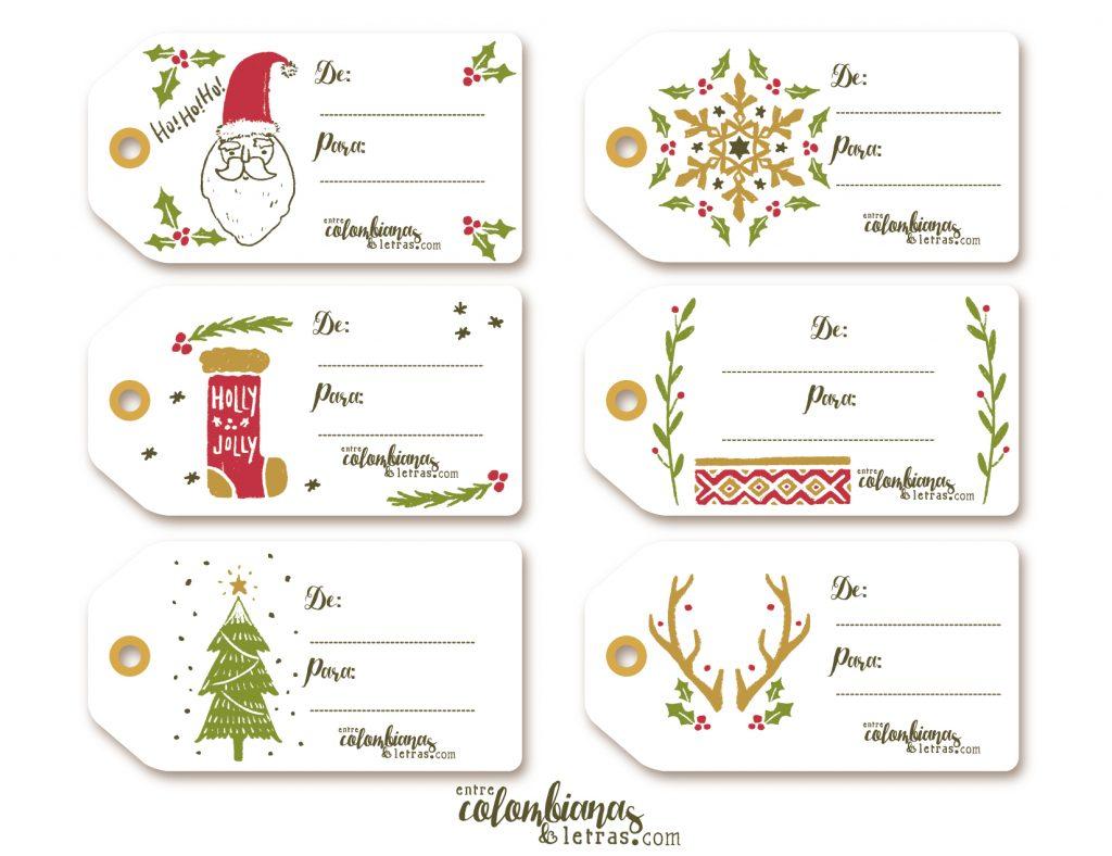 Tarjetas de navidad colombia gratis